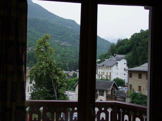 Hotel les Chalets : Vu du balcon