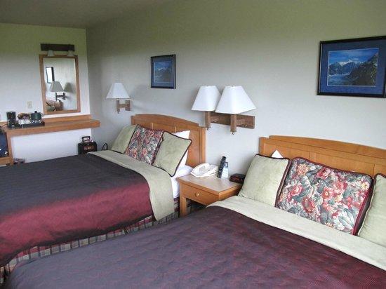 Ramada Anchorage : Vue d'une chambre standard