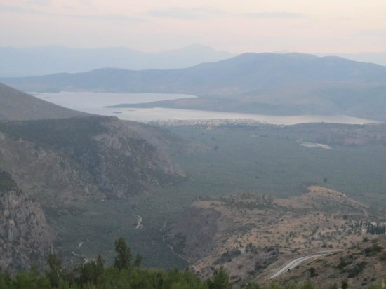Delphi Palace: view from my balcony