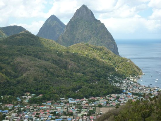 A-Touring Services Private Tours: The Pitons