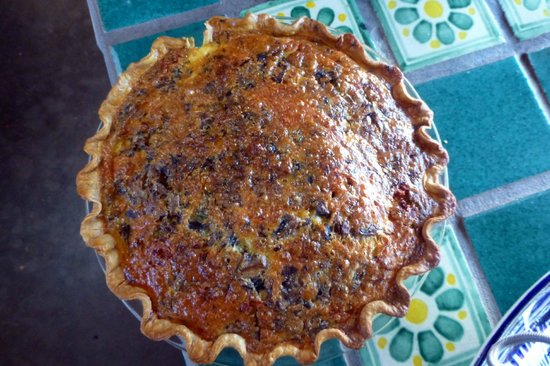 Cinnamon Morning Bed And Breakfast: A+ quiche