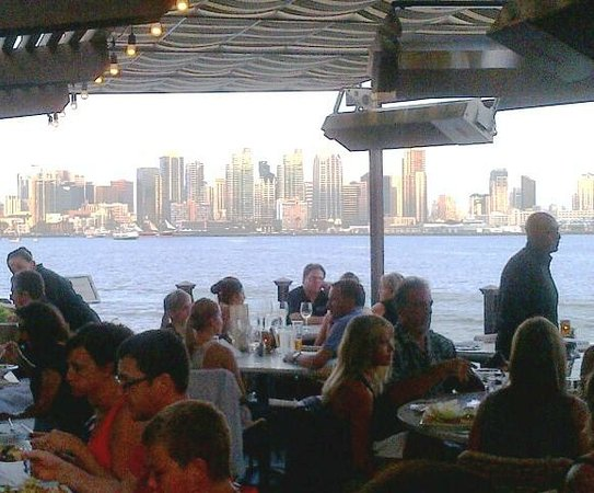 C Level Lounge: View Of The San Diego Skyline From C Level Outside Dining