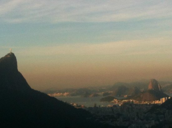 Rio Alternative Tour: View of Christ and Sugarloaf from the Chinese View