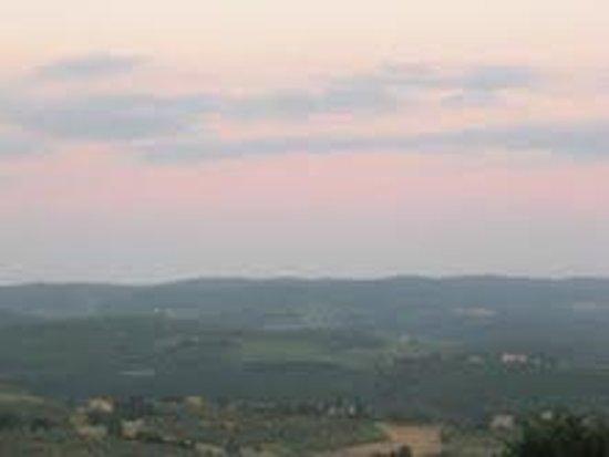 Osteria Il Campanellino: view from the terrace