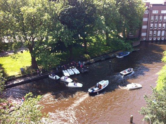Hampshire Hotel - Amsterdam American: Vista dal 4° piano