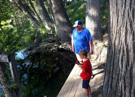 Cypress Frio Waters : Fishing with Grandpa