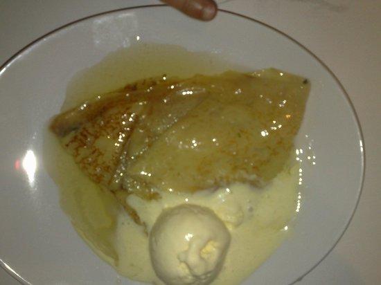 Paulus Restaurant: Crêpe Suzette