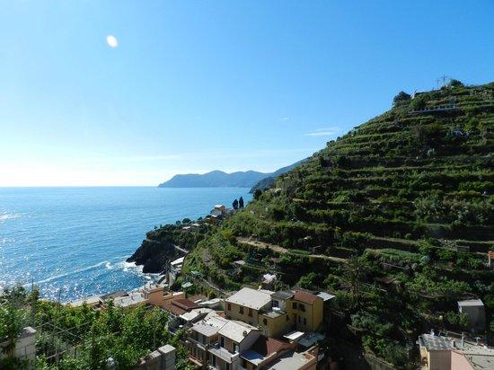 A Casa Cinque Terre Manarola: View Giorgio 2