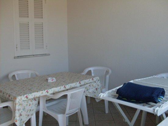 Residence Le Vigne : террасса