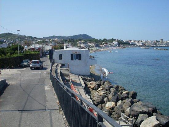 Residence Le Vigne : пляж рядом