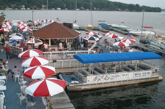 Tiki Bar And Tour Boat Picture Of Jefferson House Lake Hopatcong