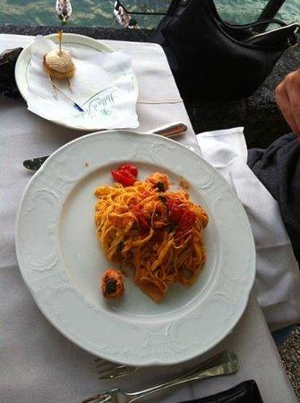 Hotel Stella d'Italia: taglierini con pesce