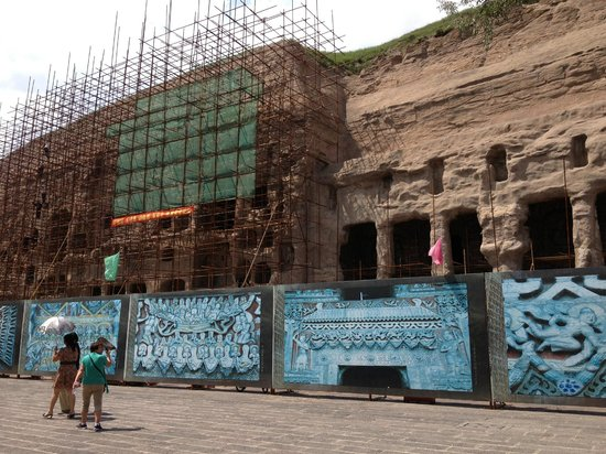 yungang grottoes how to get there from pingyao