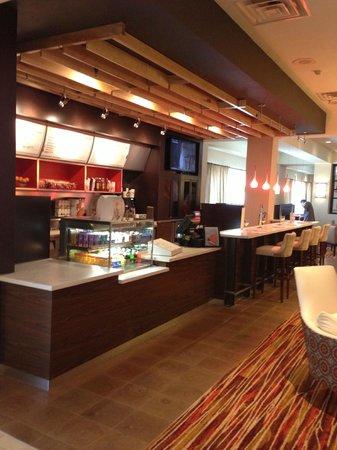 Courtyard Pueblo Downtown: Bistro/Bar (brand new!)