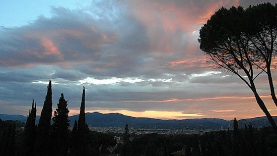 Villa Belvedere - Florence: Morning view from room 40