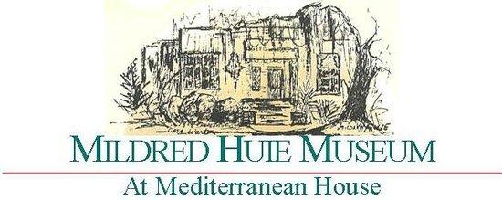Mildred Huie Plantation Museum at Mediterranean House : museum logo