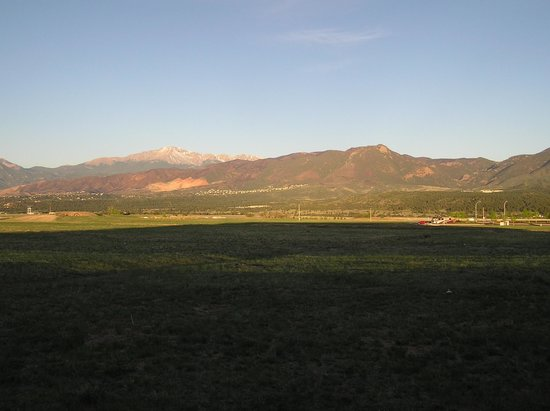Residence Inn Colorado Springs North/Air Force Academy: Morning view