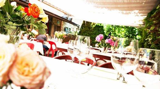 Restaurant Gonzalez: Garten