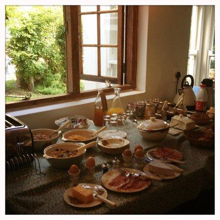 La Grenadine : Breakfast is ready!