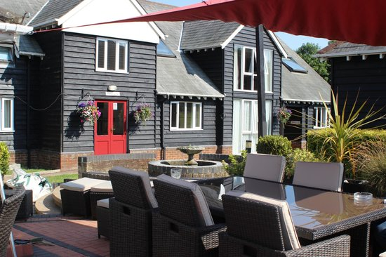 Old Red Lion Inn: Laid out
