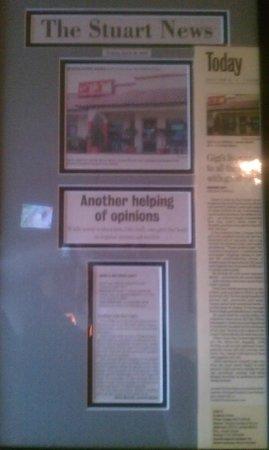 Gigi's Italian Restaurant: Stuart News