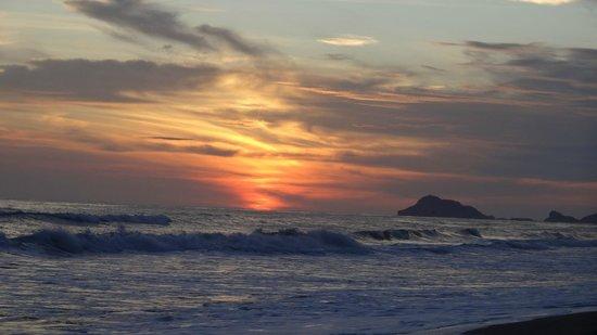 Estrella Del Mar Resort Mazatlan: atardecer