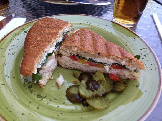 Bella's Cafe & Bistro : Chicken Panini - very good! Worth the stop.