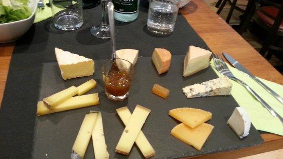 L'Affineur' Affiné : L'assiette de 10 fromages