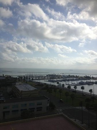 Best Western Corpus Christi: view from breakfast on the 11th floor