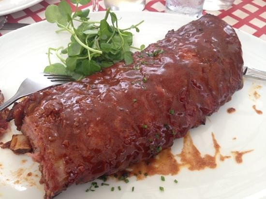 The French Connection: ribs were a little dry and/or overdone