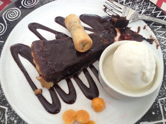 The French Connection: you will trade your shoes for this belguim chocolate desert