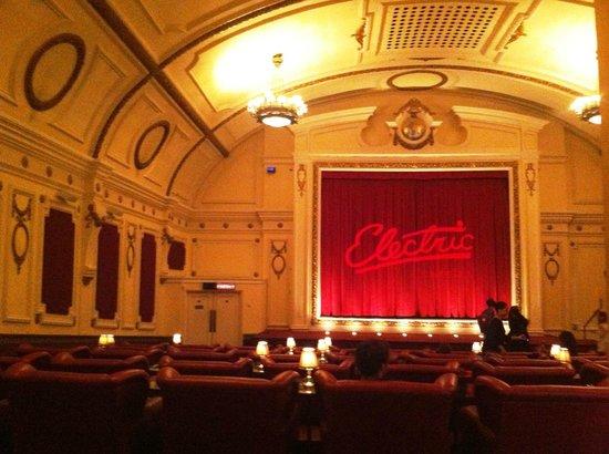 Electric Cinema : From inside the cinema