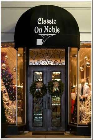 Classic On Noble at Christmas time.