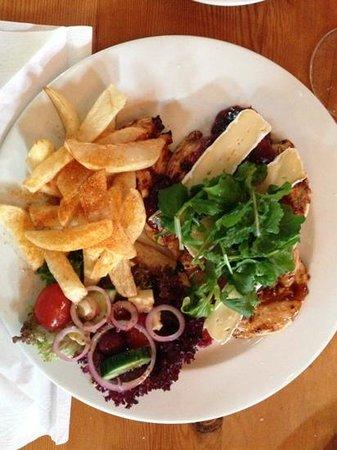 Skilpadvlei Wine Farm : cranberry chicken fillet