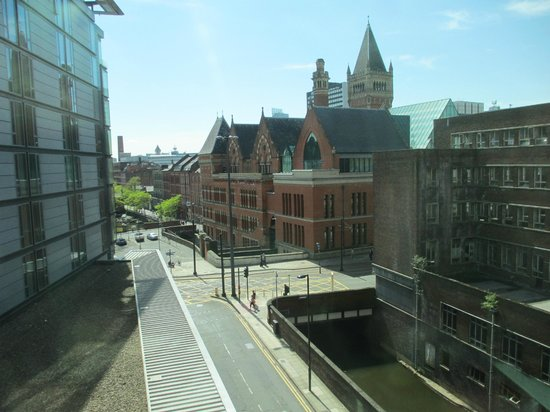DoubleTree by Hilton Manchester Piccadilly: The view from our window, of Manchester, a short walk from city center
