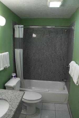 Deluxe Inn: Salle de bain