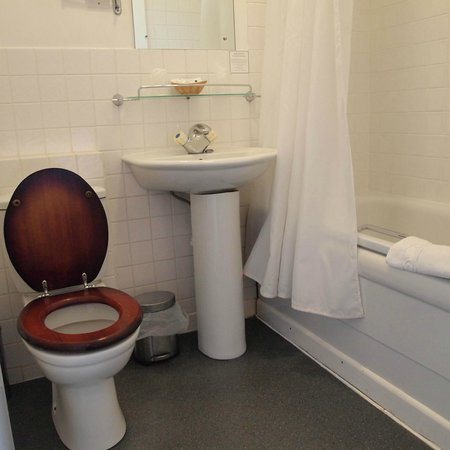 The Dartmoor Lodge: Bathroom
