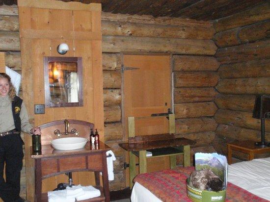 inside an old room number 46