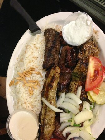 Beirut Restaurant: #1 of many favorite dishes. The mixed grill