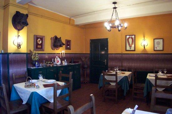 Hotel Rural La Pista: comedor
