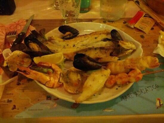 Griglia d'Oro: grigliata di pesce