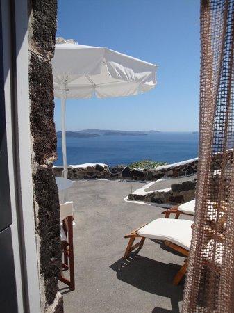 Perivolas: View from Room