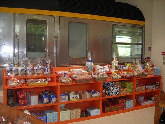 Biscuiterie Vedere : corbeilles de la boutique