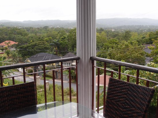 The Blue House Boutique Bed & Breakfast: View from the balcony