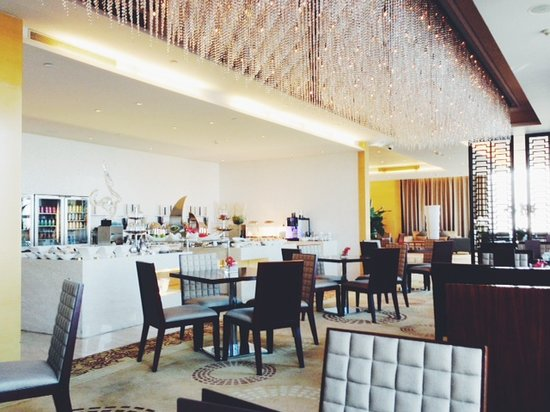 The Westin Fuzhou Minjiang: club lounge