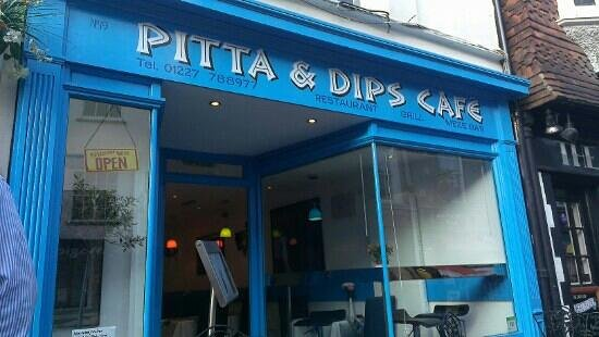 Pitta and Dips Cafe: Pitta and Dips