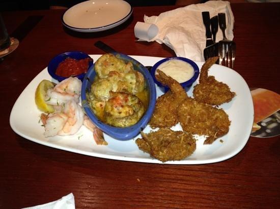 Red Lobster: Seaside Sampler appetizer