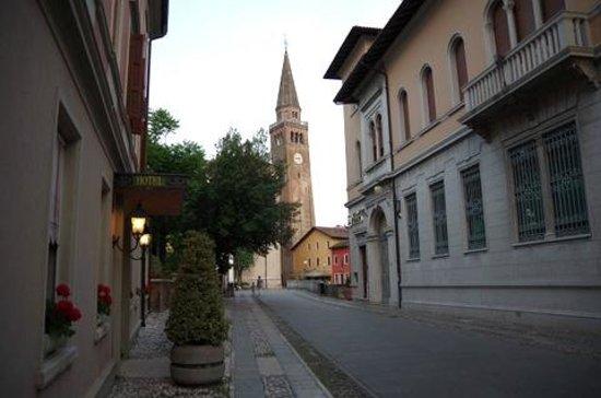 Hotel Spessotto: very quiet street