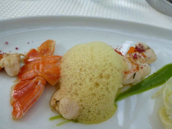 Restaurants Schoengruen: One of the many seafood dishes