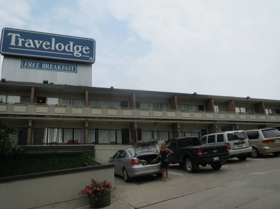 Travelodge Niagara Falls at the Falls: Gratis parkering